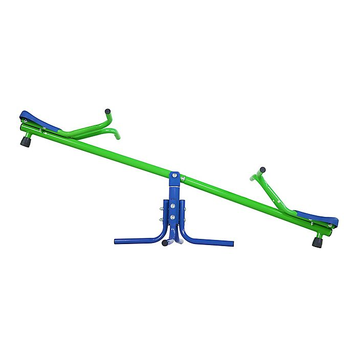 Alternate image 1 for Sportspower Junior Teeter Totter in Green/Blue