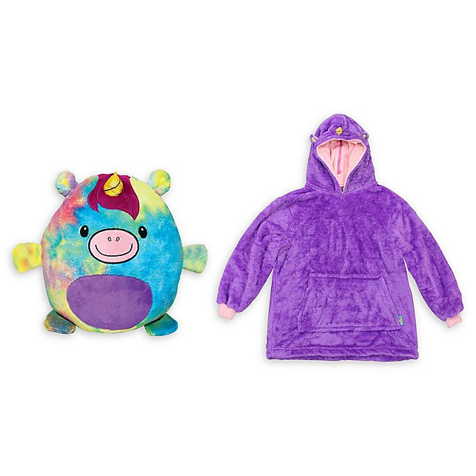 Huggle Pets Unicorn Pet And Hoodie In Rainbow Bed Bath Beyond