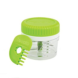 Tovolo® Twist and Chop Mini Mincer in Spring Green/White