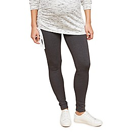 Motherhood Maternity® Secret Fit Belly French Terry Maternity Leggings