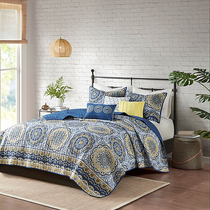 Alternate image 1 for Madison Park Tangiers Coverlet Set