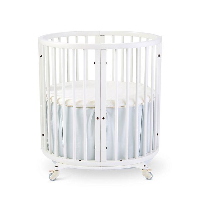 Alternate image 1 for Stokke® Sleepi™ Mini Crib Bed Skirt by Pehr