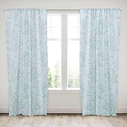 Levtex Home Avery Spa 84-Inch Rod Pocket Window Curtain Panel