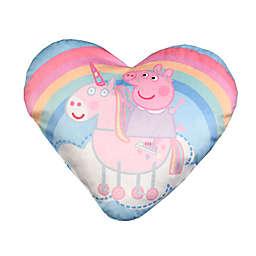 E ONE™ Peppa Pig Heart Throw Pillow