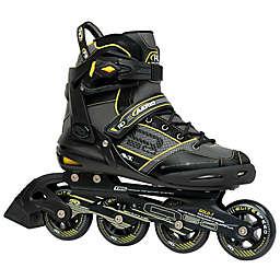 AERIO Q-60 Men's Inline Roller Skates in Black