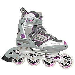 Aerio Q-60 Women's Inline Roller Skates in Grey