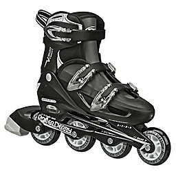 V-Tech® 500 Men's Adjustable Inline Skates in Black/White