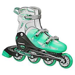 V-Tech® 500 Women's Adjustable Inline Skates in Mint