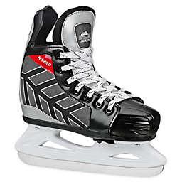 Roller Derby Wizard 400 Size 10-13 Kid's Adjustable Ice Skates in Black