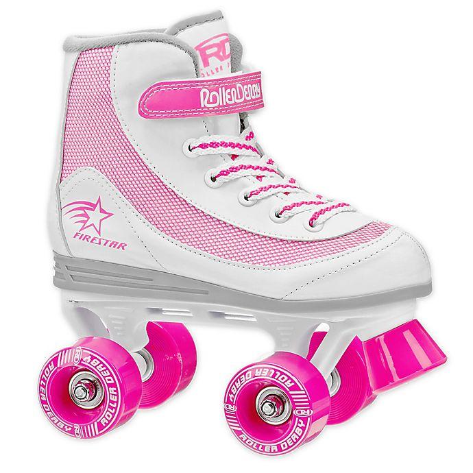 Alternate image 1 for FireStar Youth Roller Derby Quad Roller Skates