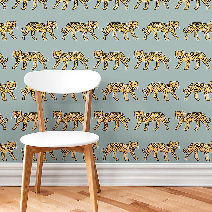 Marmalade Cheetah Peel Stick Vinyl Wallpaper Buybuy Baby