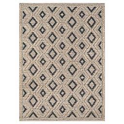 """Momeni® Geometric 8'9"""" x 11'9"""" Woven Area Rug in Beige"""