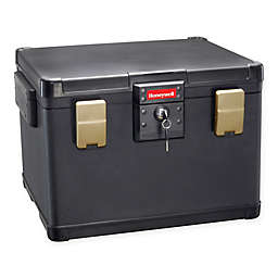 Honeywell 1108ST Legal Size Fire/Water File Chest in Black