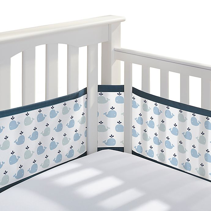 Alternate image 1 for BreathableBaby® Breathable Mesh Crib Liner