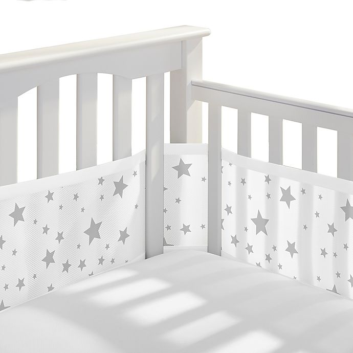 Alternate image 1 for BreathableBaby® Breathable Mesh Crib Liner in Starlight