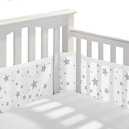 BreathableBaby® Breathable Mesh Crib Liner in Starlight