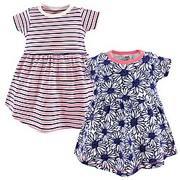 Touched by Nature 2-Pack Daisy Organic Cotton Dresses