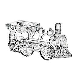 Godinger Train Engine Glass Votive Candle Holder