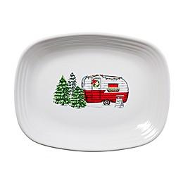 Fiesta® Christmas Trailer 12-Inch Rectangular Platter