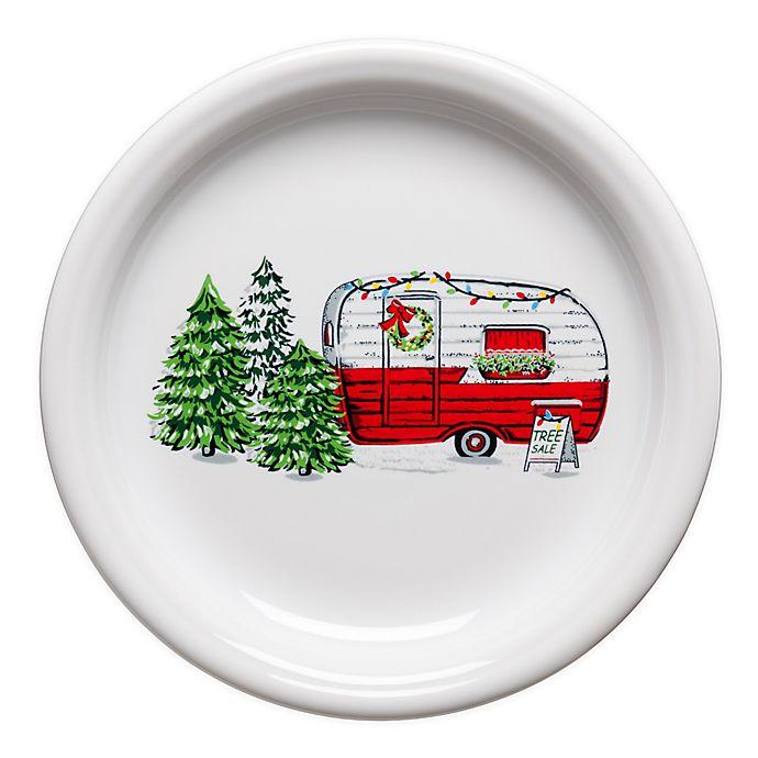 Alternate image 1 for Fiesta® Christmas Trailer Bistro Salad Plate