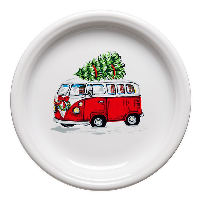 Alternate image 1 for Fiesta® Christmas Bus Bistro Salad Plate