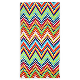 Destination Summer Ikat Chevron Beach Towel