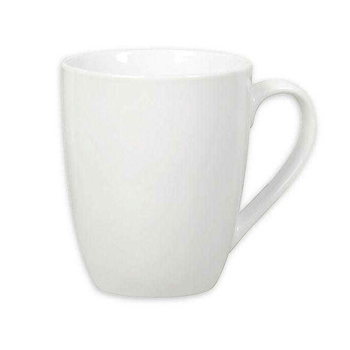 Alternate image 1 for White Porcelain Caterer's Mugs (Set of 10)