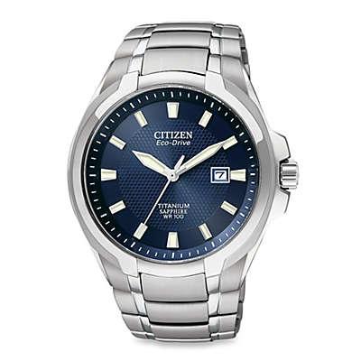 Citizen Men's Eco-Drive Titanium Bracelet Watch