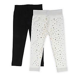 Capelli New York 2-Pack Celestial Star Leggings in Ivory