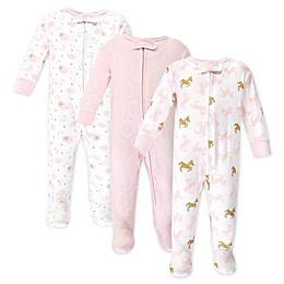 Yoga Sprout 3-Pack Unicorn Sparkle Sleep 'n Plays in Pink