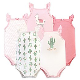 Baby Starters® 5-Pack Cactus Bodysuits in Cream