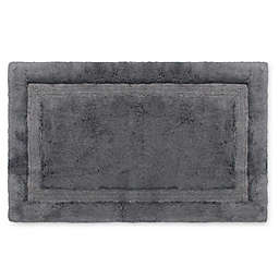 Wamsutta® Luxury 24-Inch x 40-Inch Border Plush MicroCotton Bath Rug
