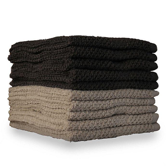 Alternate image 1 for 10-Pack Textured Washcloths