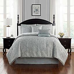 Waterford® Landon 4-Piece Reversible Comforter Set