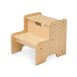 Melissa & Doug® Wooden Step Stool in Natural