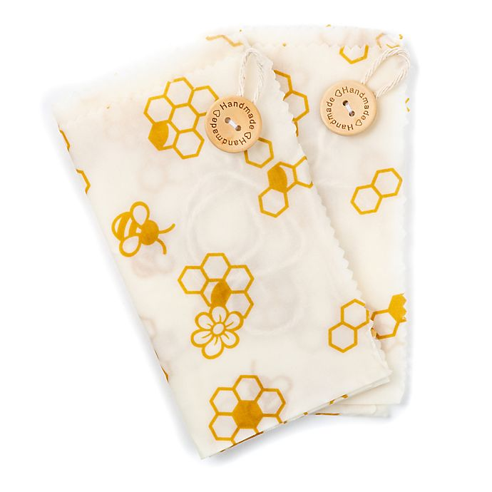 Alternate image 1 for Core Kitchen Beeswax Sandwich Wraps (Set of 2)