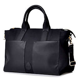 PacaPod Croyde Tote Diaper Bag in Black