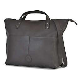 PacaPod Saunton Backpack Diaper Bag in Pewter