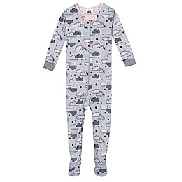 Just Born® Cloud Organic Cotton Sleep 'n Play in Blue/Green