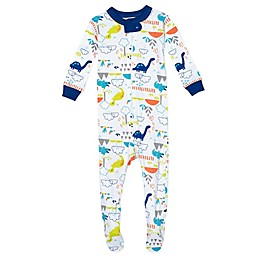 Just Born® Dino Organic Cotton Sleep 'n Play in Blue/Green