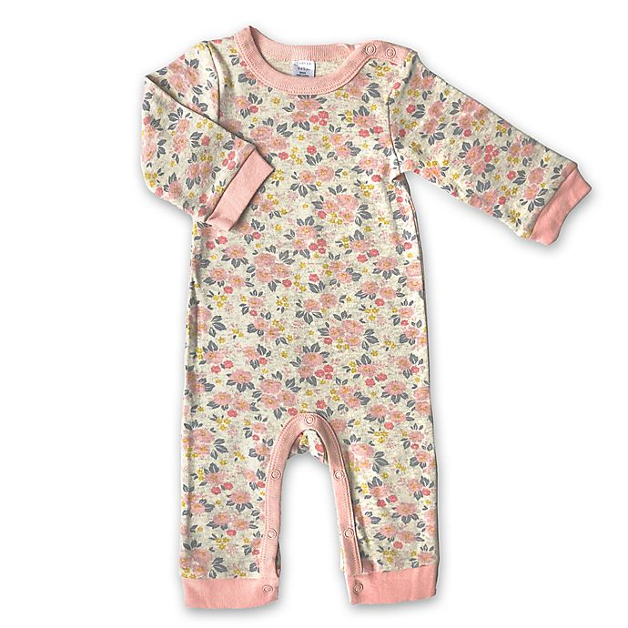 Alternate image 1 for Modern Baby Floral Coverall
