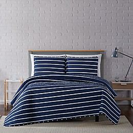 Truly Soft® Maddow Stripe Quilt Set