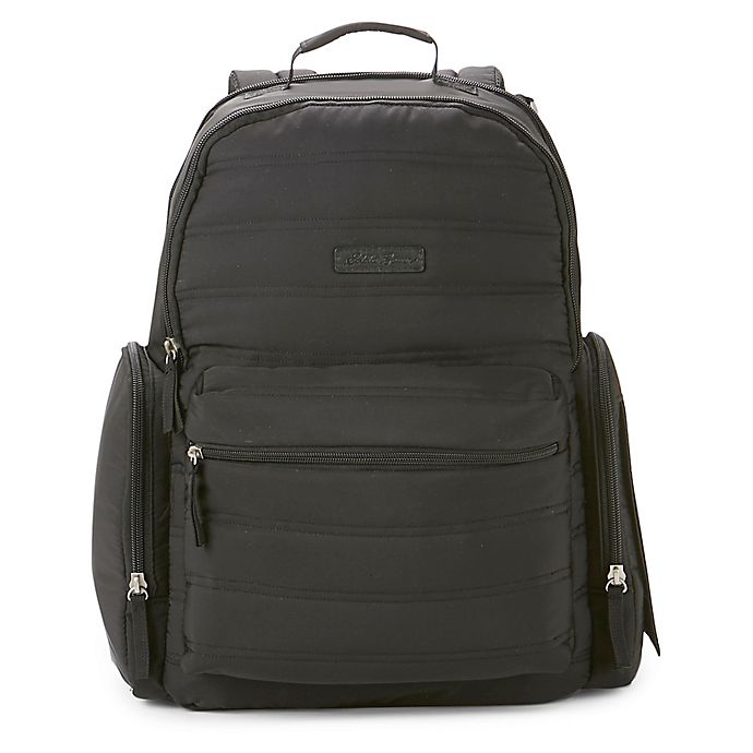 Alternate image 1 for Eddie Bauer® Places & Spaces Lost Lake Diaper Backpack in Black