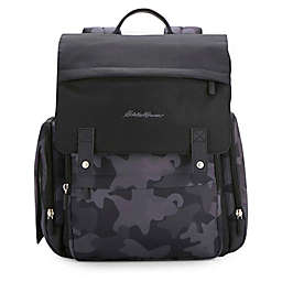 Eddie Bauer® Places & Spaces Compass Diaper Backpack in Black
