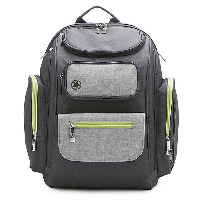 Alternate image 1 for Jeep® Adventurers Backpack Diaper Bag
