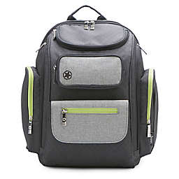 Jeep® Adventurers Backpack Diaper Bag in Grey