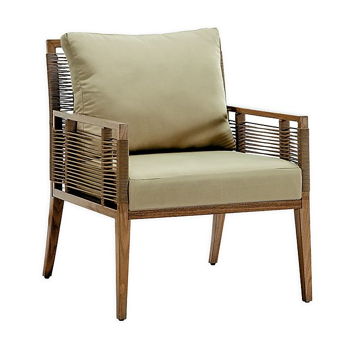 Terrific Madison Park Cassandra Patio Lounge Chair In Natural Bed Machost Co Dining Chair Design Ideas Machostcouk