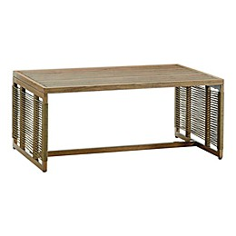 Madison Park® Cassandra Patio Coffee Table in Natural