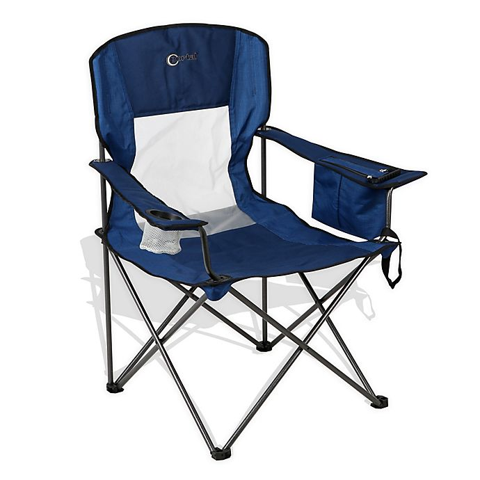 Alternate image 1 for Oversized Quad Folding Chair in Blue