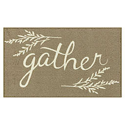 "Bee and Willow™ Home ""Gather"" 20"" x 34"" Tufted Accent Rug in Tan"